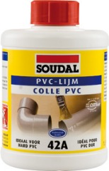 photo du produit Pot colle PVC 42A Soudal 250ml