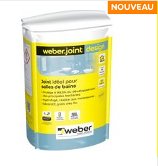 photo du produit Weber Joint Design Noir 5kg