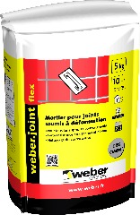 photo du produit Weber Joint Flex Gris Ciment 5kg