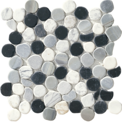 photo du produit Mosaique Taro Nero Mix Formella 30,5x30,5